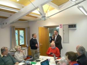 Bürgermeister Kennerknecht gratuliert zum Jubiläum